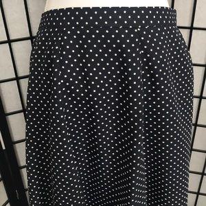 HOST PICK Polka Dot Mini Flair Skirt